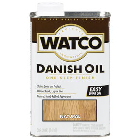Natural Danish Oil Solvent Based Quart