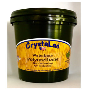 Waterbase Polyurethane Semi-Gloss Mini Half Pint