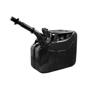 Gas Can 10 liter Black