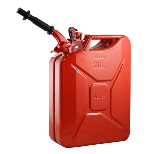 View a Larger Image of Wavian Gas can 20 liter Red