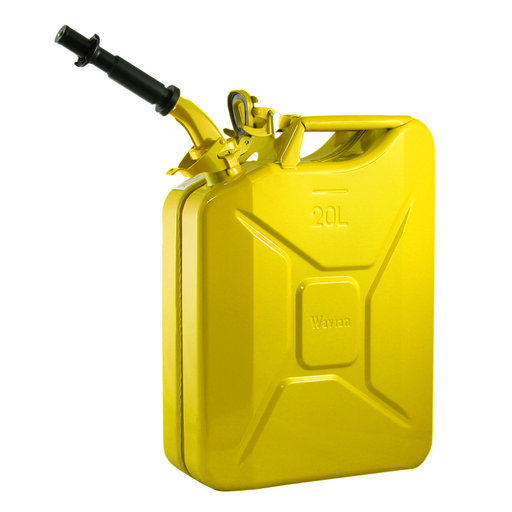 View a Larger Image of Wavian Gas can 20 liter Yellow