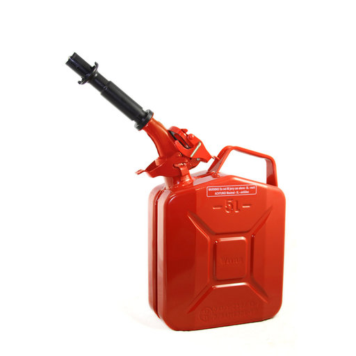 View a Larger Image of Wavian Gas can 5 liter Red