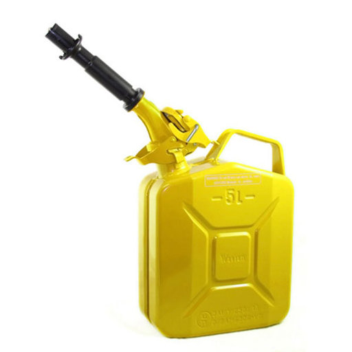 View a Larger Image of Wavian Gas can 5 liter Yellow