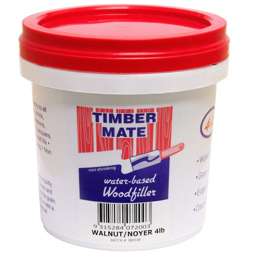View a Larger Image of Water Based Wood Filler 4lb Walnut