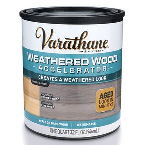 Stain Varathane Weathered Wood Accelerator Quart