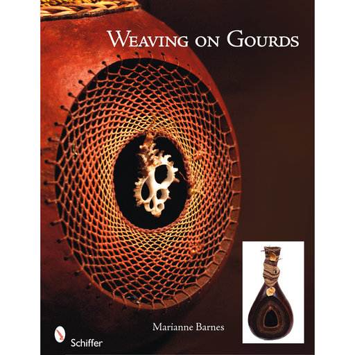 View a Larger Image of Weaving on Gourds
