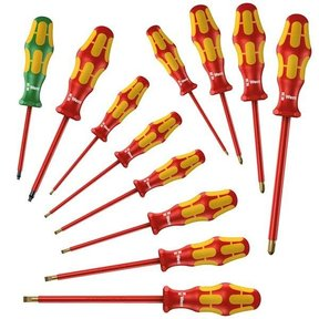 160i/162i/168i Insulated Screwdriver Set, 12 pc.
