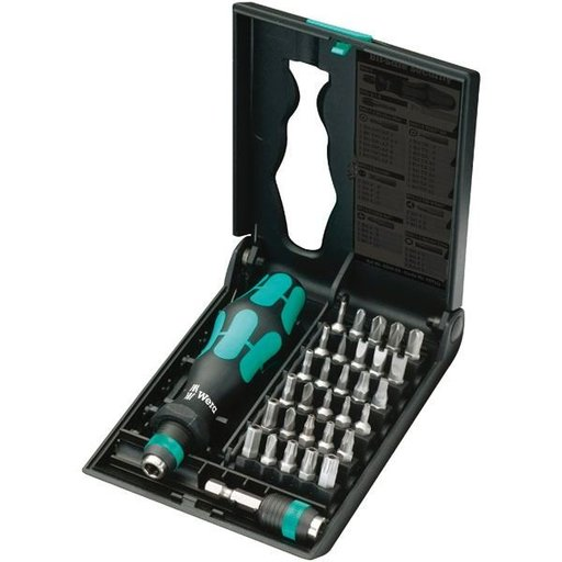View a Larger Image of Kraftform Kompakt 71 Security Screwdriver Bit Set
