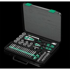 """Zyklop Ratchet Set, 1/2"""" and 1/4"""", Metric"""