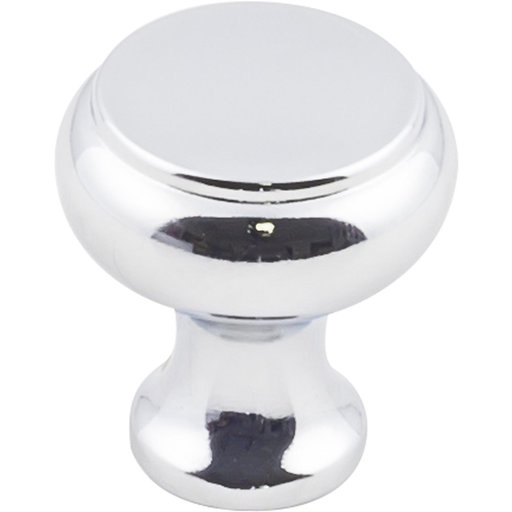 "View a Larger Image of Westbury Knob, 1-1/4"" Dia.,  Polished Chrome"