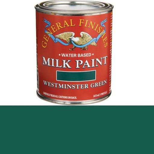 View a Larger Image of Westminster Green Milk Paint Pint