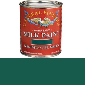 Westminster Green Milk Paint Water Based Pint