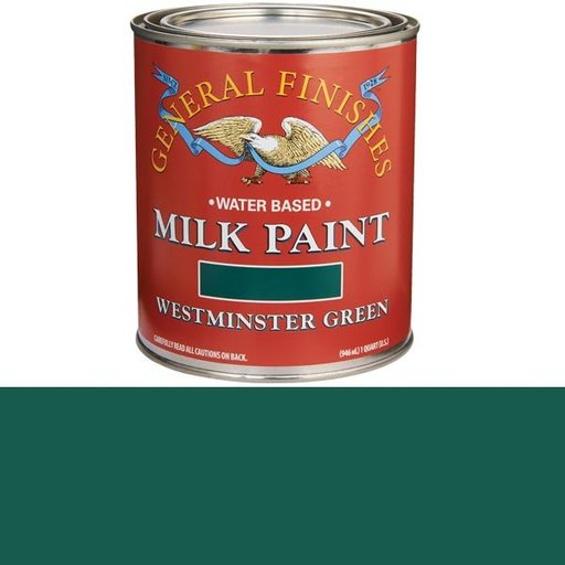 View a Larger Image of Westminster Green Milk Paint Quart