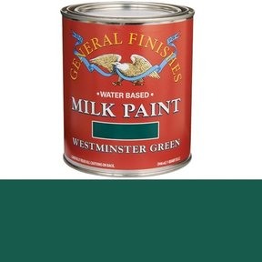 Westminster Green  Based Milk Paint Quart