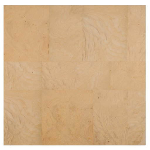 "View a Larger Image of White Ash Patchwork Burl Veneer Sheet 24"" x 24"""