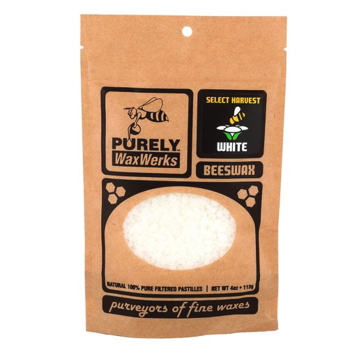 View a Larger Image of White Beeswax Pastilles 4oz