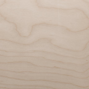 White Birch Veneer Sheet Rotary Cut Spliced 4' x 8' 2-Ply Wood on Wood