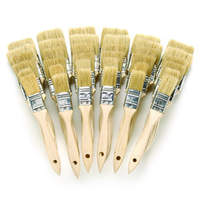 Brush White China Bristle 36 pc