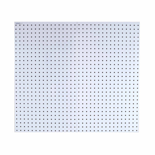 View a Larger Image of White Epoxy, 18 Gauge Steel Square Hole Pegboards