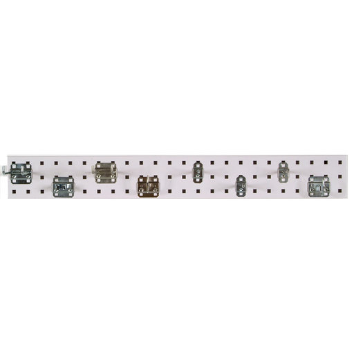 View a Larger Image of White Garden Pegboard Kit