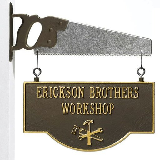 View a Larger Image of Workshop Sign, 2 lines