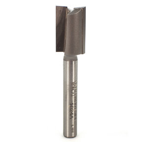 "1024A Straight Cut Double Flute Router Bit 31/64"" D X 3/4"" CL 2-1/4"" OL"