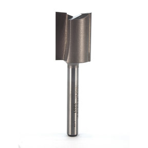 "1031 Straight Cut Double Flute Router Bit 3/4"" D X 1"" CL 2-5/8"" OL"