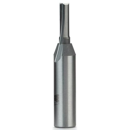 "View a Larger Image of 1058-M6 Straight Cut Double Flute Router Bit, 1/2""SH, 6mm D X 3/4"" CL, 2-3/8"" OL"
