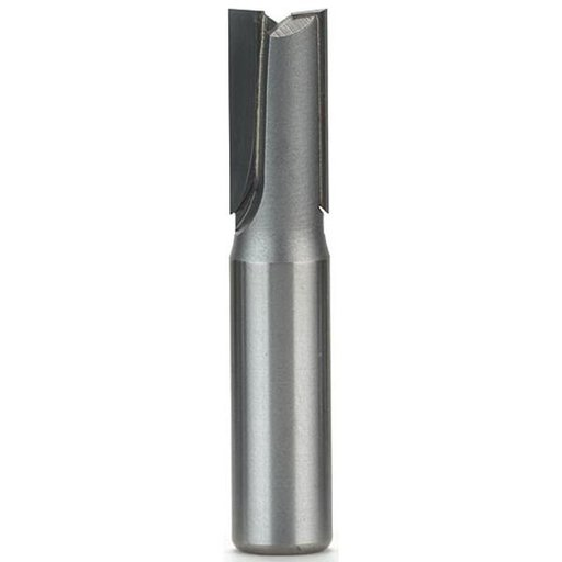 "View a Larger Image of 1066-M12 Straight Cut Double Flute Router Bit, 1/2"" SH, 12mm D X 1"" CL, 2-5/8"" OL"