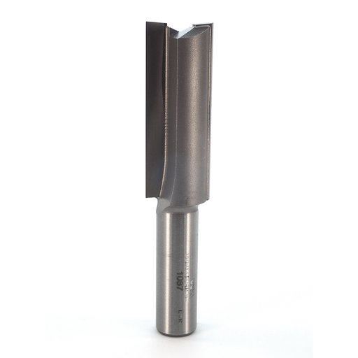 "View a Larger Image of 1087 Straight Cut Double Flute Router Bit 3/4"" D X 2"" CL 3-5/8"" OL"