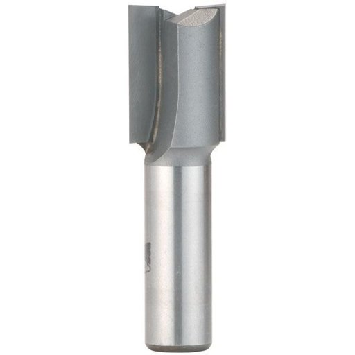 "View a Larger Image of 1093F Straight Cut Double Flute Router Bit 1"" D X 1-1/4"" CL 3"" OL"