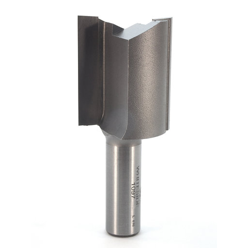 "View a Larger Image of 1097 Straight Cut Double Flute Router Bit 1-1/4"" D X 1-1/2"" CL 3"" OL"
