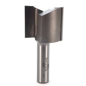"1099 Straight Cut Double Flute Router Bit 1-1/2"" D X 1-1/4"" CL 3"" OL"