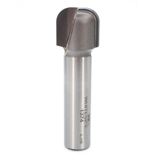 "View a Larger Image of 1374 Bowl And Tray Router Bit 1/4"" R 3/4"" OD x 5/8"" CL 2-3/8"" OL 1/2"" SH"