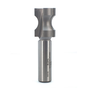 "1474 Oval Edge (Half Bull Nose) Router Bit 1/2"" A X 1/8"" B X 1"" CL 3/4"" D"