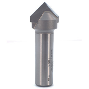 #1504 90 Degree V-Groove Router Bit, 3/4 CD, 3/8 PL, 1/2 SH, 2-1/4OL
