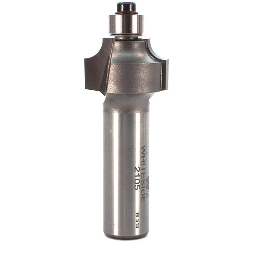 "View a Larger Image of 2105 Beading Router Bit 1/2"" SH 3/16"" R X 7/8"" D X 1/2"" CL"