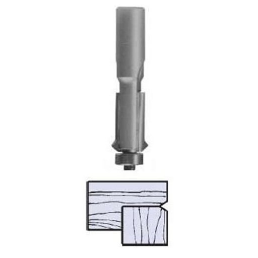"View a Larger Image of 2425 V-Groove Flush Trim Router Bit 1/4"" SH X 1/2"" D X 1"" CL 2-1/2"" OL"