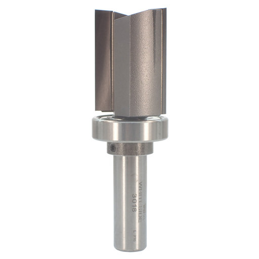 """View a Larger Image of 3018 B11 Bearing Template Router Bit 1/2"""" SH 1-1/8"""" D X 1-1/2"""" CL X 3-1/2"""" OL"""