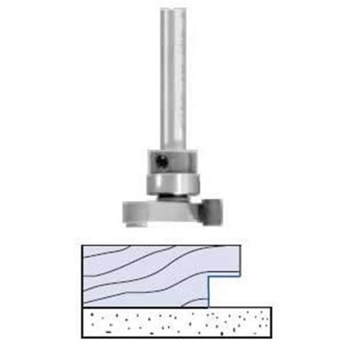 """View a Larger Image of 3110B Slot And Undercut Router Bit 1-1/2"""" D X 1/4"""" A X 1/2"""" B X 2"""" OL"""