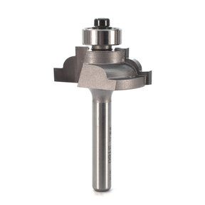 "3160 Classical Cove Router Bit 1/4"" SH 5/32"" R 1-1/4"" D X 1/2"" CL X 2"" OL"