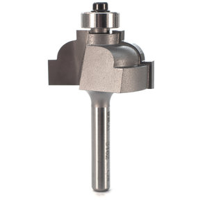 "3162 Classical Cove Router Bit 1/4"" SH 1/4"" R 1-3/8"" D X 3/4"" CL X 2-1/4"" OL"
