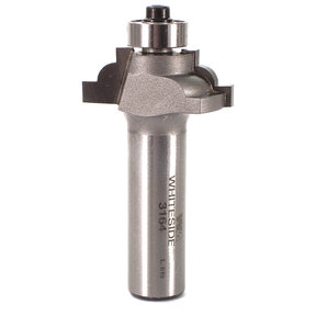 "3164 Classical Cove Router Bit 1/2"" SH 5/32"" R 1-1/4"" D X 1/2"" CL X 2-1/4"" OL"