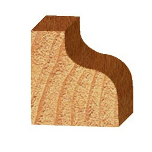 """View a Larger Image of 3222 Ogee Router Bit 1/2"""" SH 5/32"""" R 1-1/8"""" D X 1/2"""" CL X 2-1/4"""" OL"""
