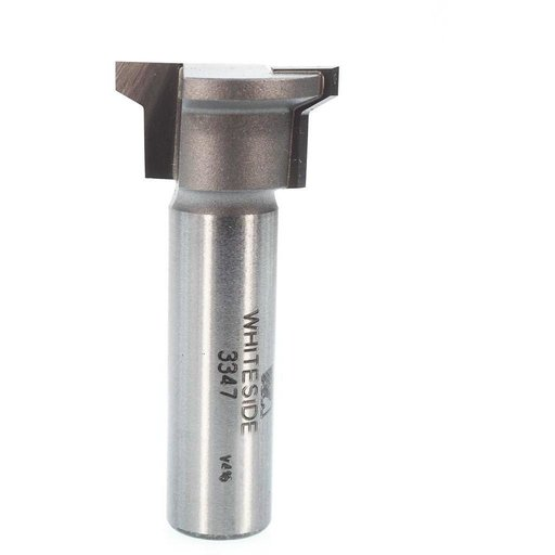 "View a Larger Image of 3347 Locking Drawer Glue Joint Router Bit 1/2"" SH 1"" D X 1/2"" CL X 2-1/8"" OL"