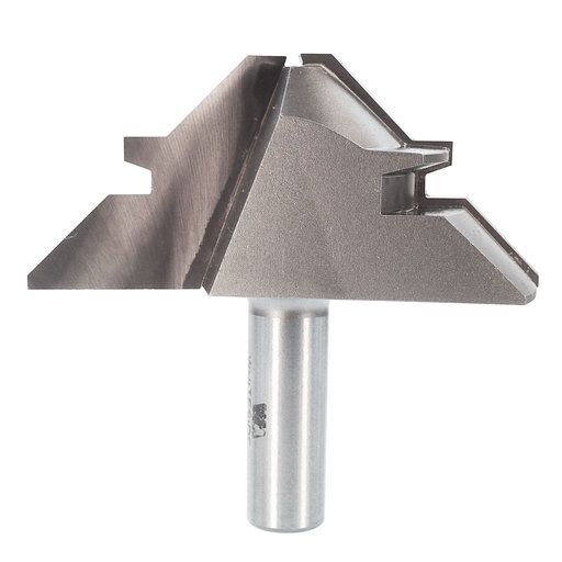 """View a Larger Image of 3360 Lock Miter Router Bit 3-1/2"""" D for 1/2"""" to 1-1/4"""" Stock Thickness"""