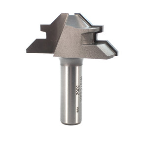 "3362 Lock Miter Router Bit 2"" D for 1/2"" to 3/4"" Stock Thickness"