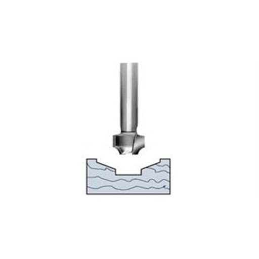 """View a Larger Image of 5645 Straight Stile Profile Router Bit 1-1/4"""" D X 2-1/2"""" OL"""
