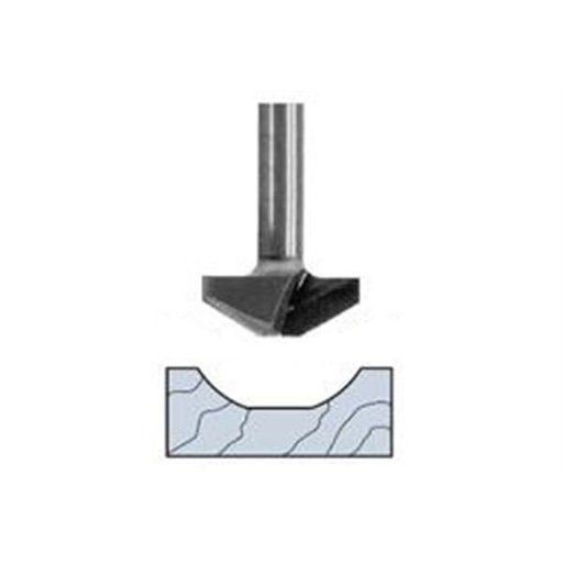 "View a Larger Image of 5710 Cove Panel Profile Router Bit 1-1/2"" D X 2-1/2"" OL"