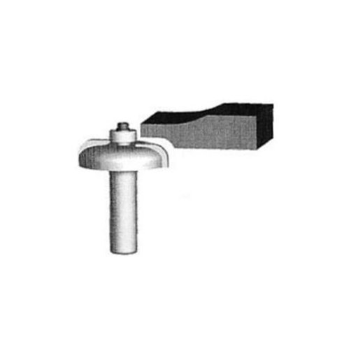 """View a Larger Image of 5850 Raised Panel Back Cutter Router Bit 1-3/4"""" D"""
